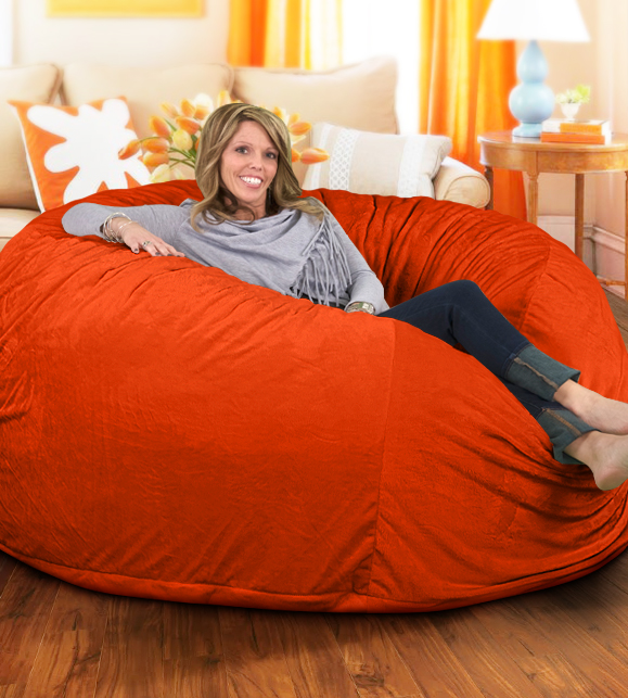 6 Ft Bean Bag Chair COVER ONLY